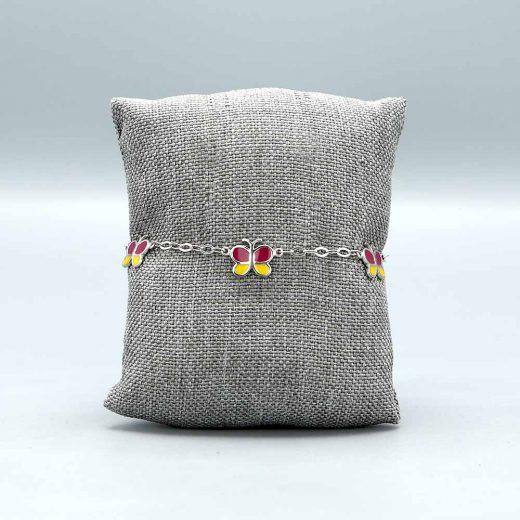 Bracelet Bebe Enfant Papillons Cadeaux De Famille
