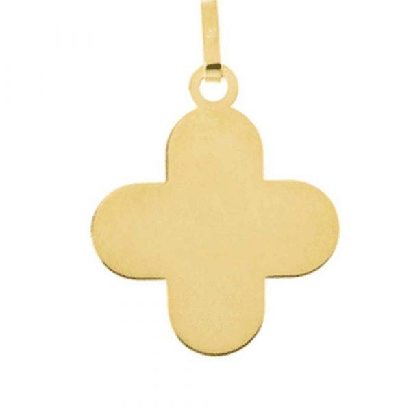 Croix en Or jaune 18 carats
