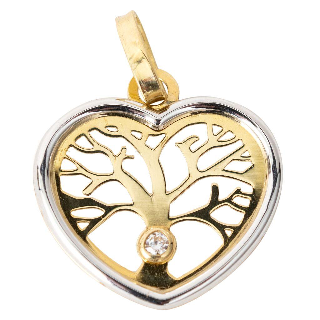 Medaille Coeur Arbre de vie