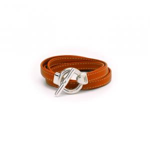 Bracelet Cuir Double Lien