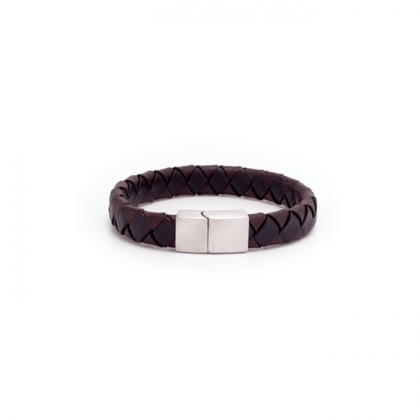 Bracelet Cuir Bicolore