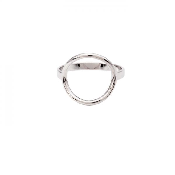 Bague anneau en argent massif