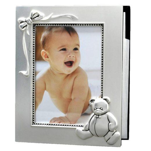 Cadre photo album naissance ourson