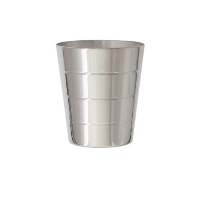 Timbale Biarritz disponible en métal argenté ou argent massif