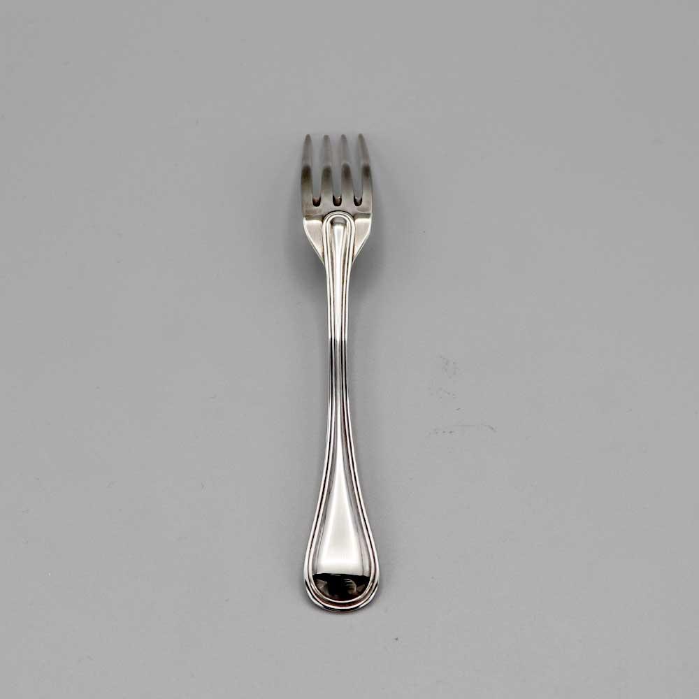 Aubry Cadoret Fourchette Bebe Metal Argente Jonc 2
