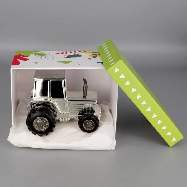 Daniel Cregut Cadeaux De Famille Tirelire Argent Tracteur