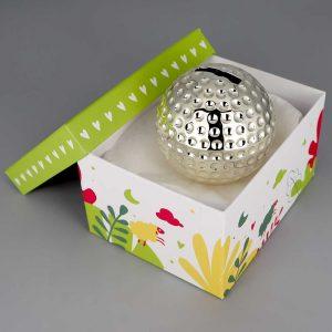 Tirelire Argent Ball De Golf Cadeaux De Famille Daniel Cregut