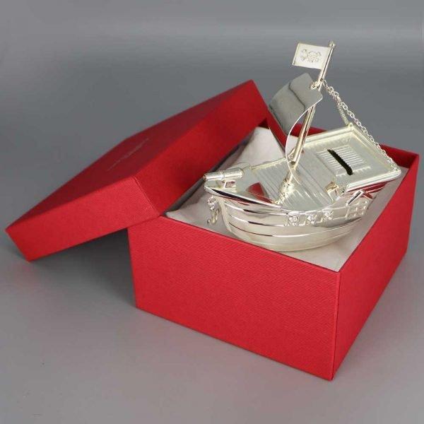 Tirelire Argent Bateau Pirate Cadeaux De Famille Daniel Cregut
