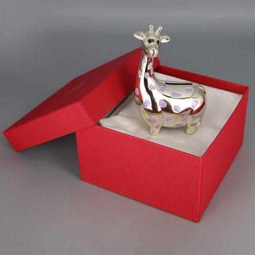 Tirelire Argent Girafe Cadeaux De Famille Daniel Cregut