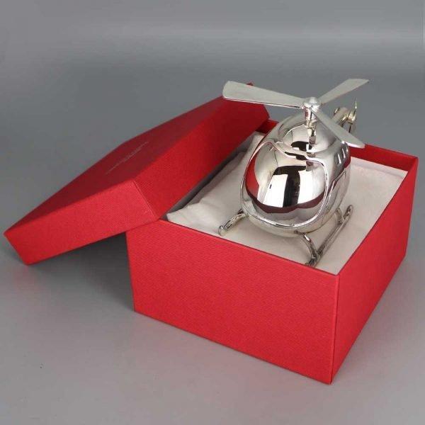 Tirelire Argent Helicoptere Cadeaux De Famille Daniel Cregut