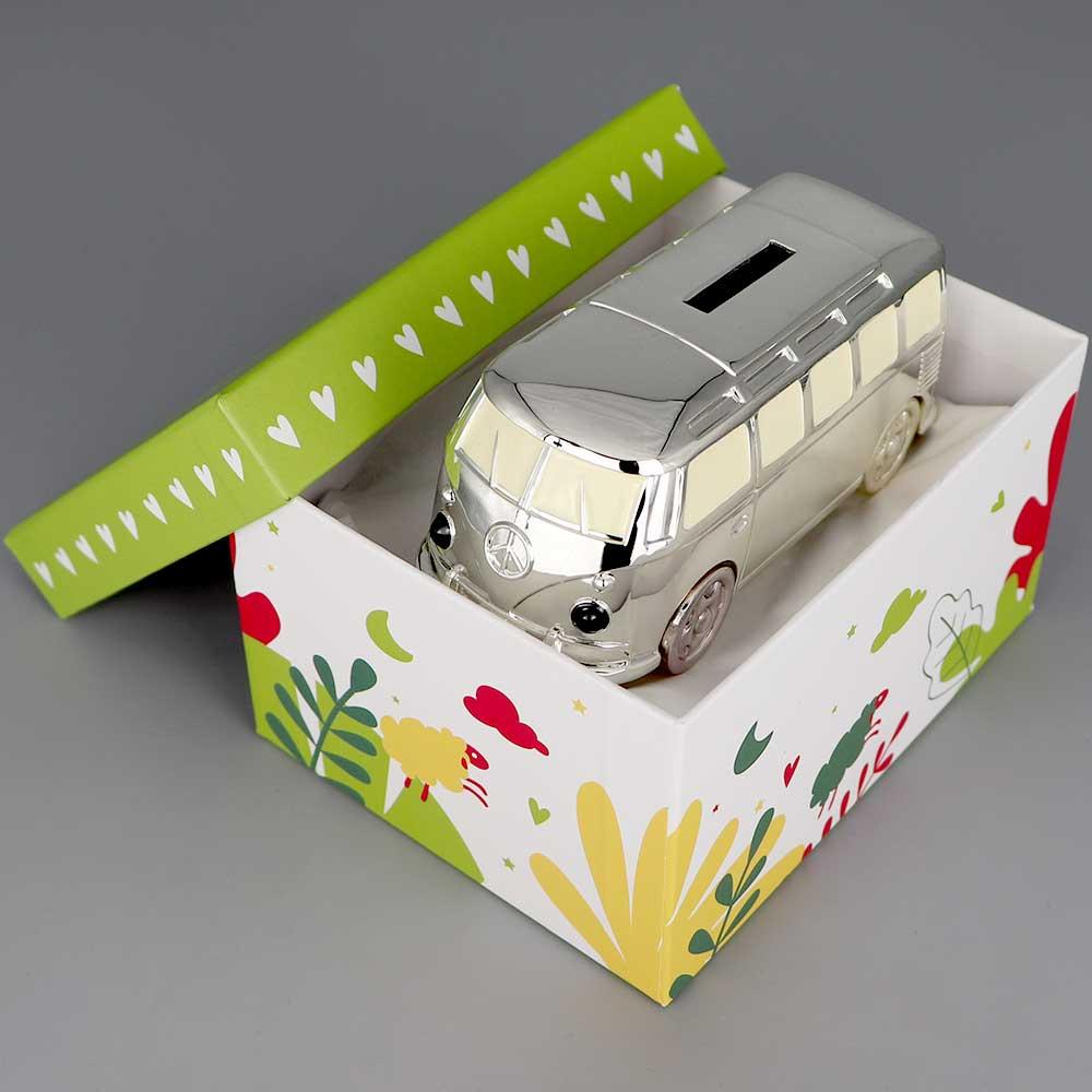 Tirelire Argent Mini Van Cadeaux De Famille Daniel Cregut