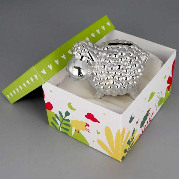 Tirelire Argent Mouton Cadeaux De Famille Daniel Cregut