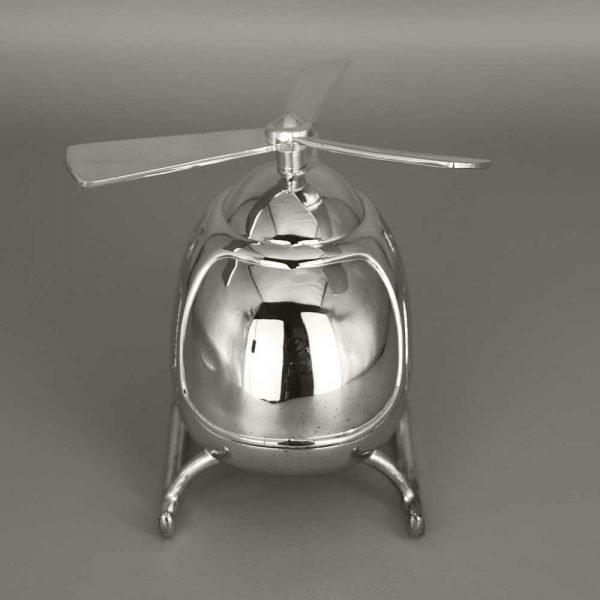 Tirelire En Argent Helicoptere Cadeaux De Famille Daniel Cregut