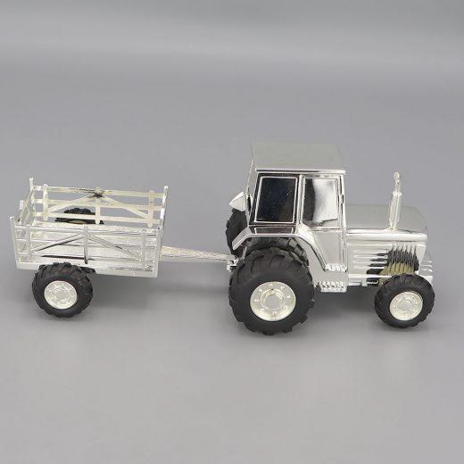 Tirelire Argent Tracteur Remorque Cadeaux De Famille Daniel Cregut 2